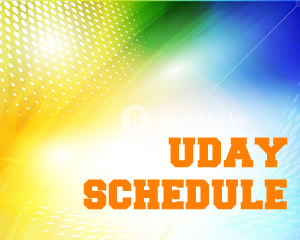UDAY 2018 Schedule