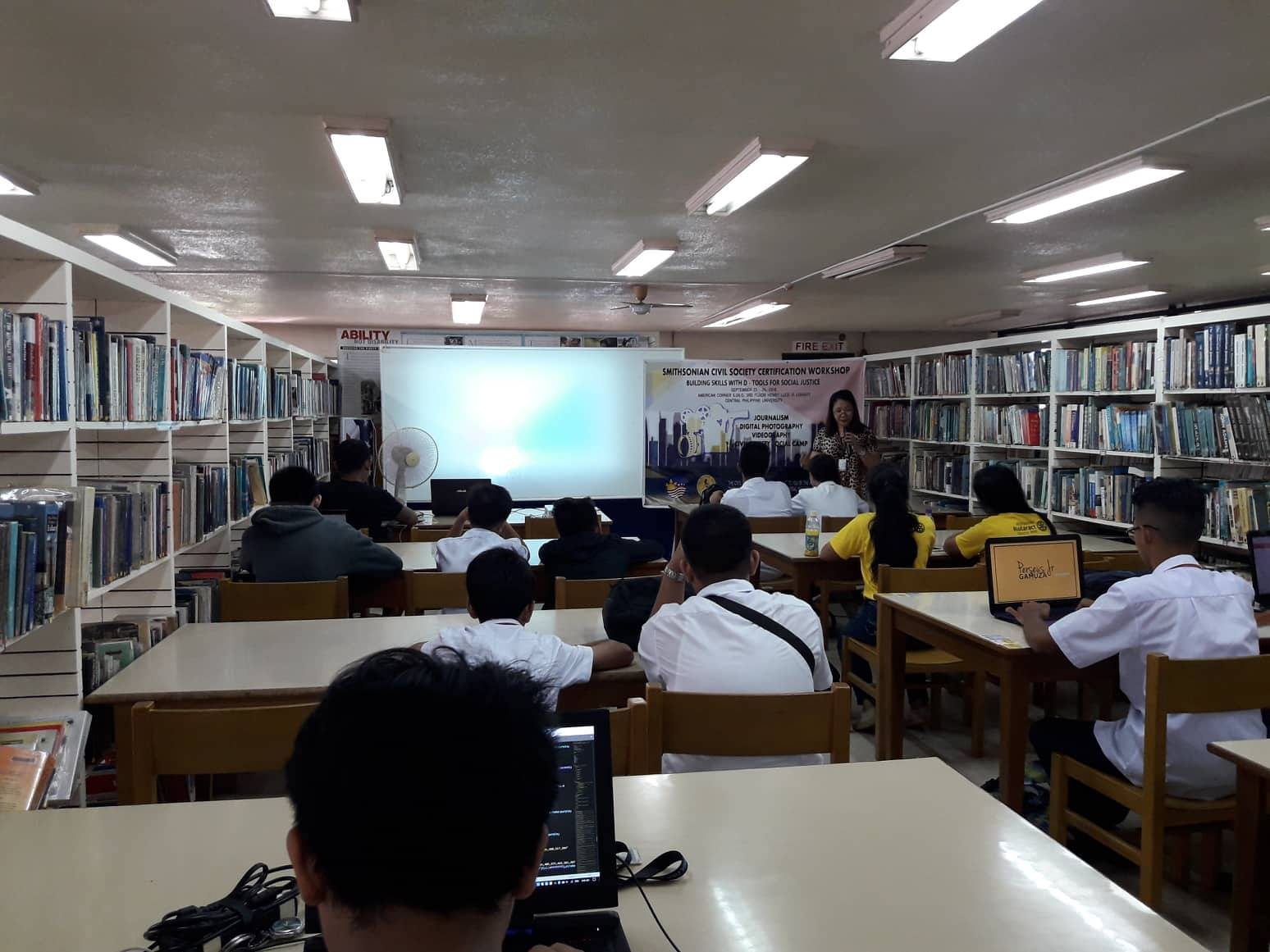Cpu American Corner Holds Scs Certification Workshop Central