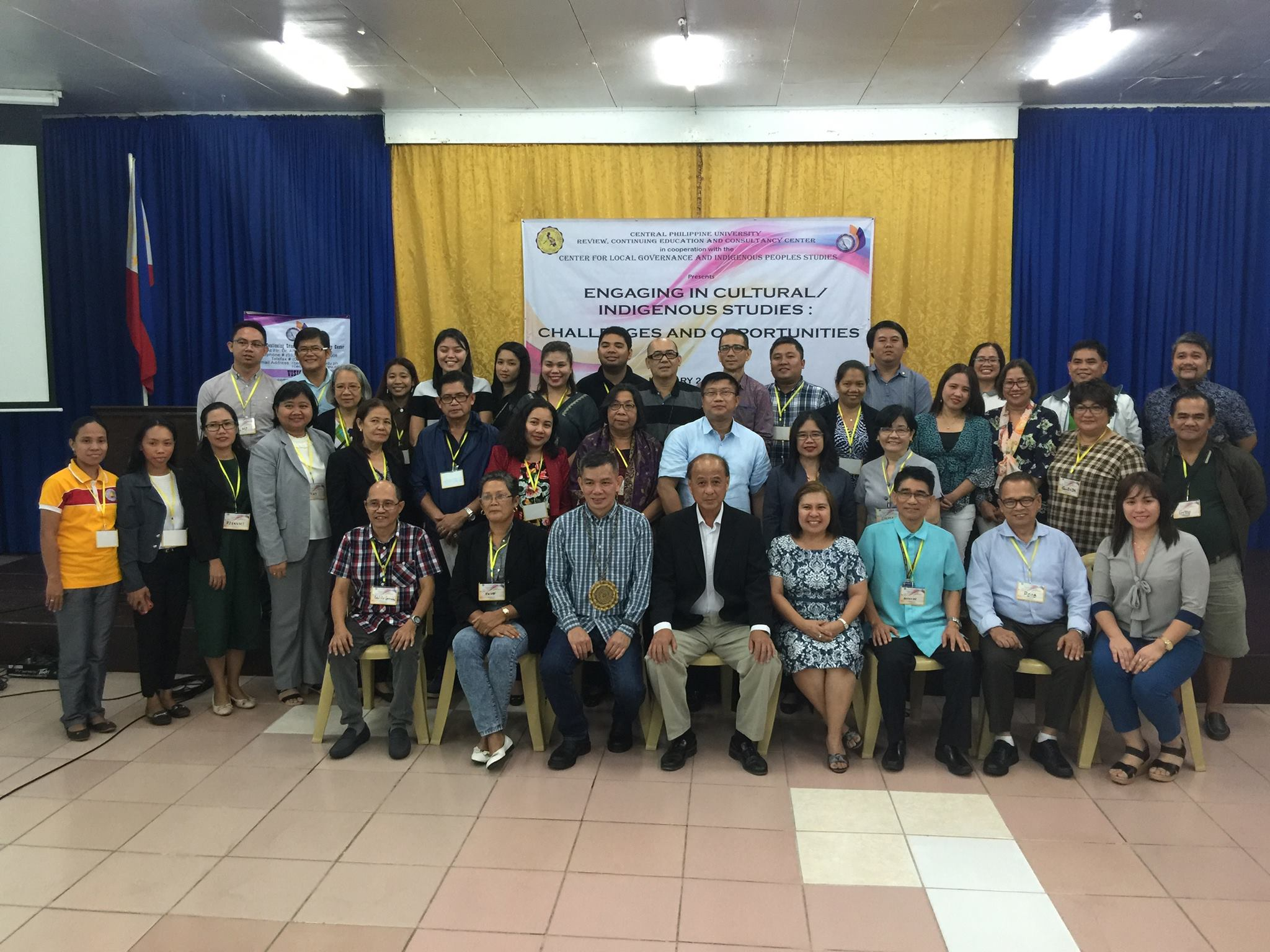 RCECC holds seminar on Indigenous Cultural Engagement