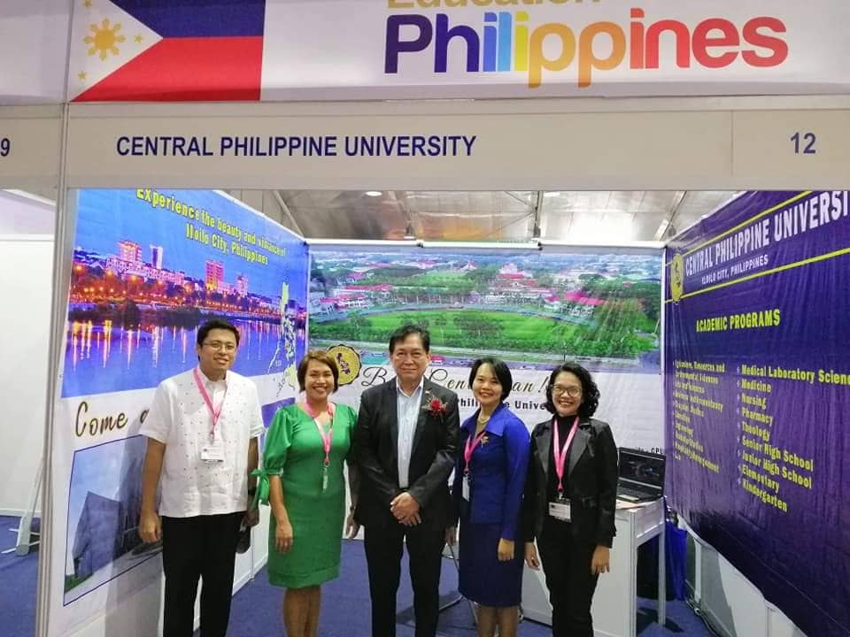CPU joins Education Fair in Myanmar | Central Philippine