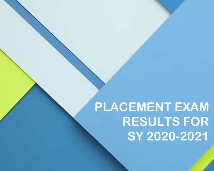 Placement Exam Results For Sy 2020 2021 Central Philippine University